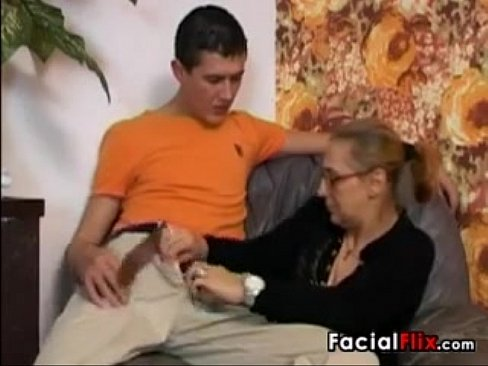 Grandma Does Anal And Gets A Facial