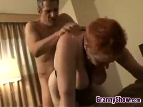 Red Haired Grandma Loves Getting Pounded